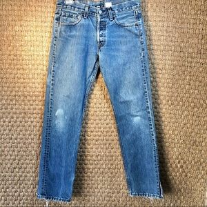 Vintage 80s USA Made Levi's 502 Jeans